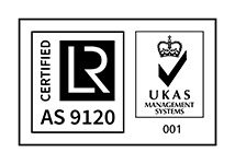 UKAS AS 9120 Certificate