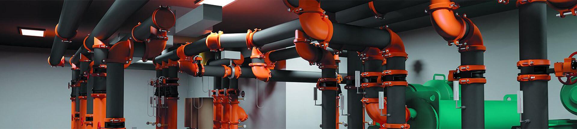 Instalacje przemysłowe, technologiczne i HVAC