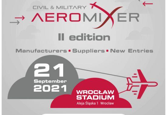 Alinox na CIVIL & MILITARY AEROMIXER