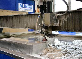 Alinox - резка водой
